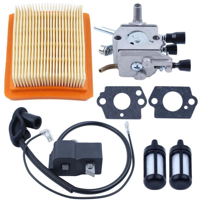 Carburateur Filtre à Carburant Ligne F Stihl FS120 FS120R FS200 FS200R FS250R FS350 Carb