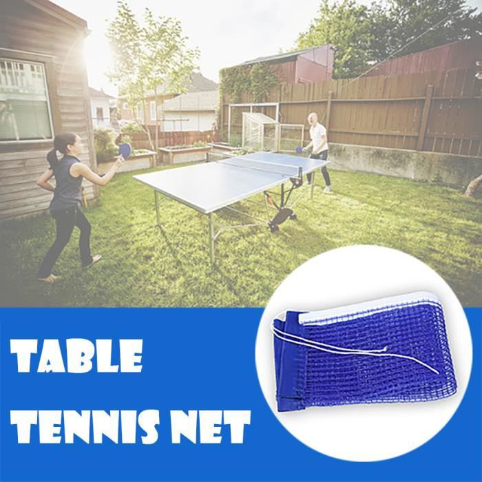 【ping pong】Accessoires de ping-pong de filet de balle facile portatifs en nylon de filet de tennis de table_YU1998