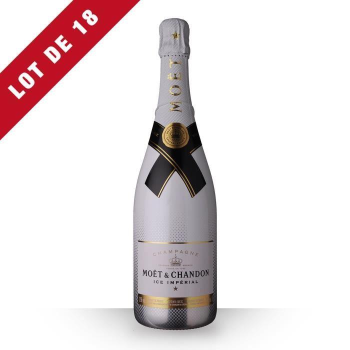 18X Moët et Chandon Ice Impérial Brut 75cl - Champagne