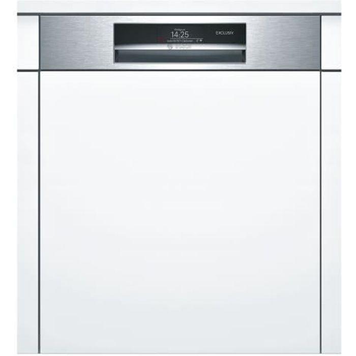 Bosch Serie 8 PerfectDry SMI88TS16D Lave-vaisselle intégrable WiFi Niche largeur : 60 cm profondeur : 55 cm hauteur : 81.5 cm…