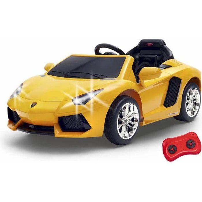 FEBER - Lamborghini Aventador Jaune - Véhicule électrique 6V