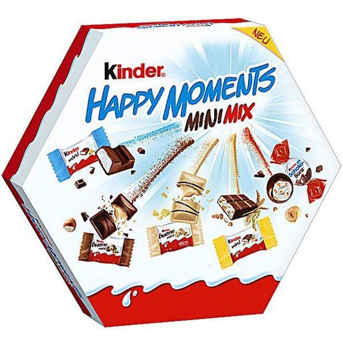 Ferrero Kinder Happy Moments Mini Mix 162g (Pack de 3)