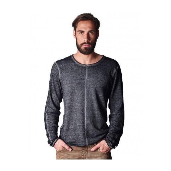 T-Shirt manches longues JAPAN RAGS Brade Black