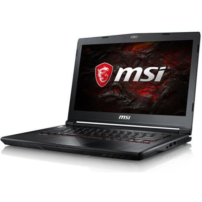 Msi Agencement Clavier Qwerty Notebook Allemande Msi 0014A3 064 Gs43vr 7Re 064De Phantom gamer Pro Pc portable 14.0 Pouces Full