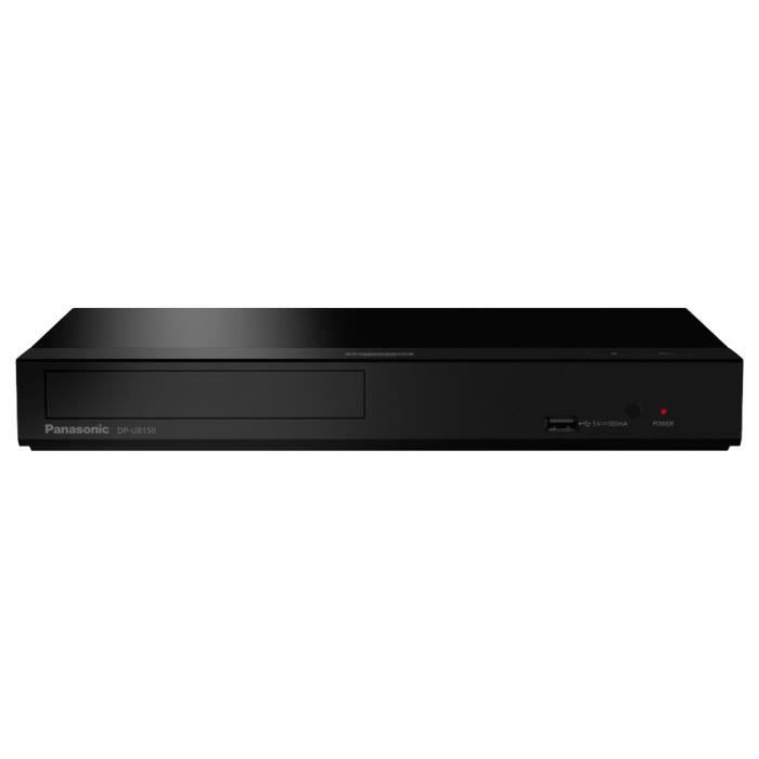 Panasonic DP-UB150EF Lecteur Blu-Ray Ultra HD 4K - Hi-Res Audio, USB, Ethernet, HDMI