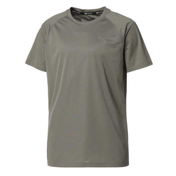 Tee-shirt homme - PUMA - Nrgy - Gris