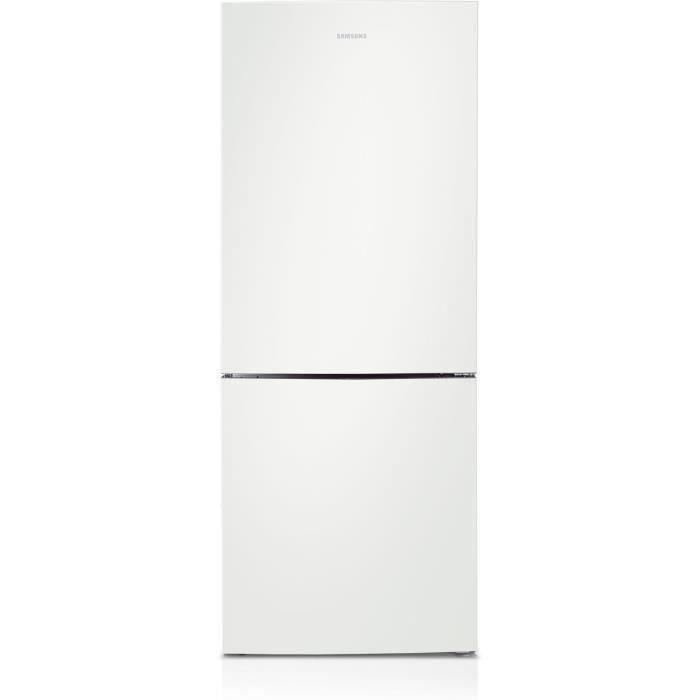 SAMSUNG - RL4323RBAWW - Réfrigérateur Combiné - 435L (303L + 132L) - Froid ventilé intégral - A++ - L70cmxH185cm - Blanc