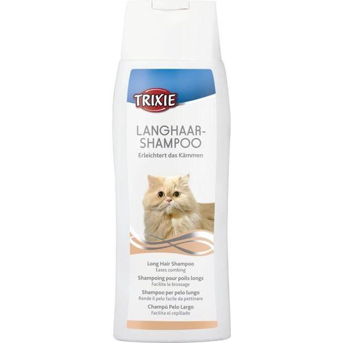 TRIXIE Shampoing pour longs poils chat 250 ml
