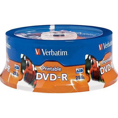 DVD-R 16X 4.76GB imprimable (25)