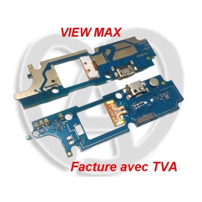 Connecteur de Charge Port d'Alimentation USB et Micro WIKO VIEW MAX - TactilEst