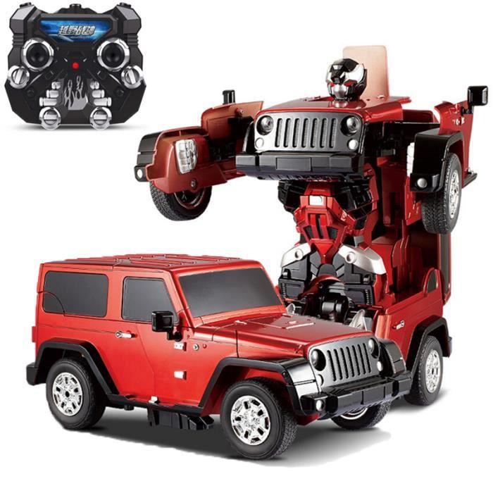 voiture transformers radiocommand e jeep wrangler achat vente voiture enfant cdiscount. Black Bedroom Furniture Sets. Home Design Ideas