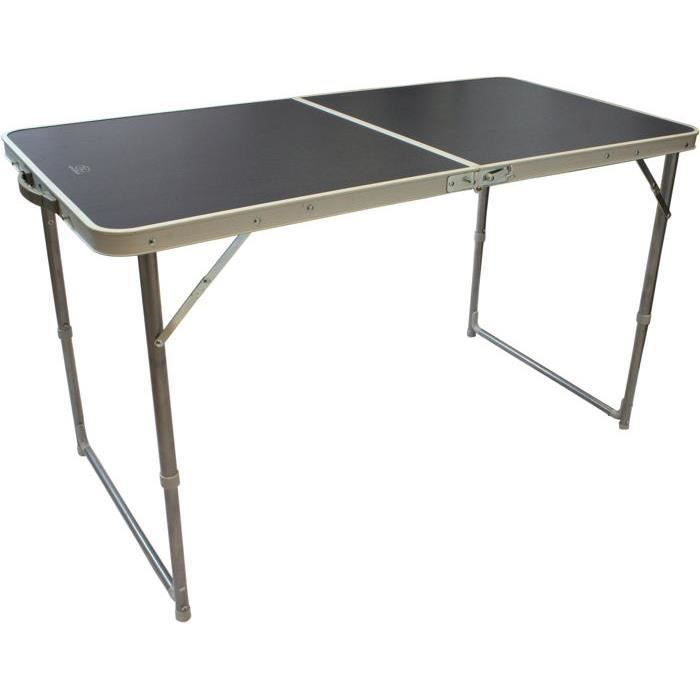 Table de camping pliante pour 4 personnes highlander for Table 4 personnes dimensions