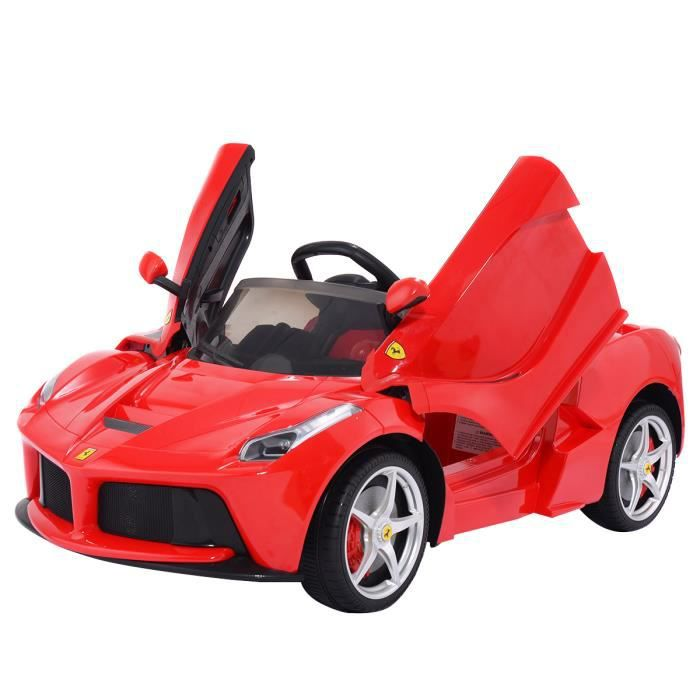 2 4g ferrari laferrari v hicule enfant voiture lectrique t l commande 12vmoteur achat vente. Black Bedroom Furniture Sets. Home Design Ideas