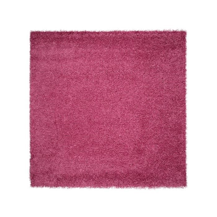 benuta tapis poils longs cambria fuchsia 60x60 cm achat vente tapis cdiscount. Black Bedroom Furniture Sets. Home Design Ideas