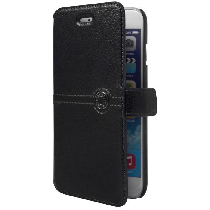 FACONNABLE Etui folio pour iPhone 6 - Noir