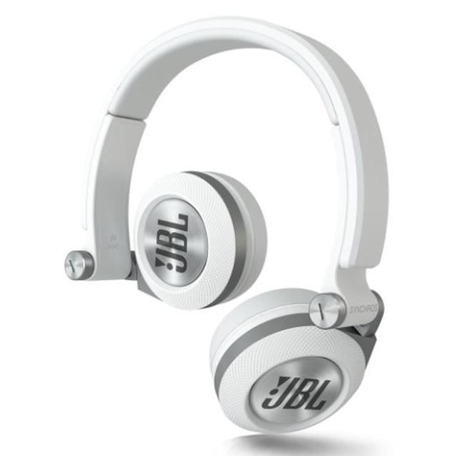 jbl casque filaire e30 supra auriculaire blanc casque. Black Bedroom Furniture Sets. Home Design Ideas
