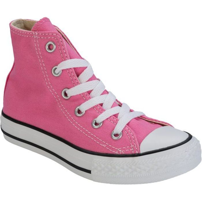Baskets Converse CT HI ALL Star pour fillettes en rose