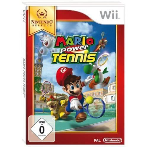 JEUX WII Mario Power Tennis - Nintendo Selects [import a…