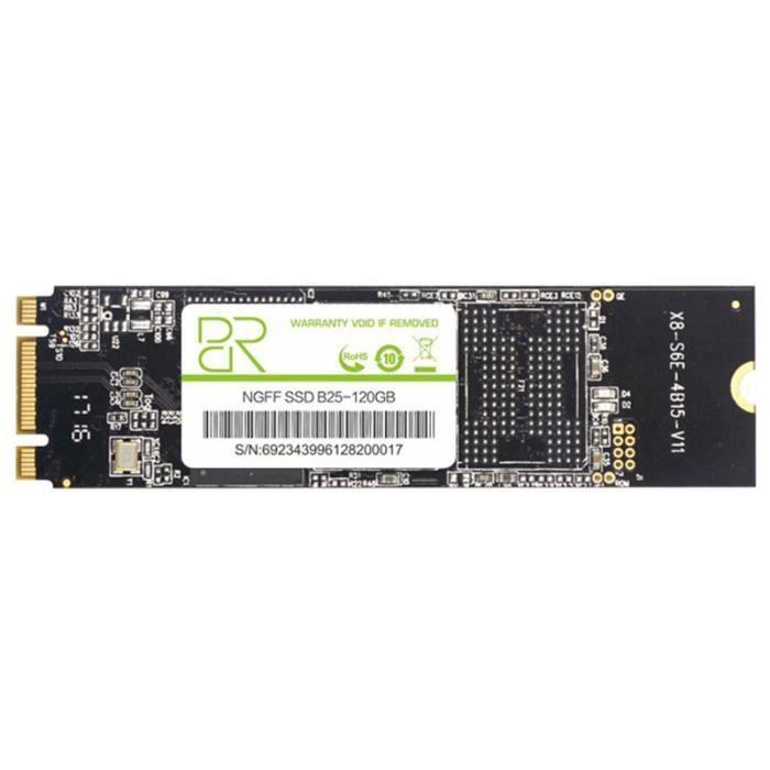 DISQUE DUR SSD BR m.2 ssd 2280 sata 3 m2 120G ssd interne disque