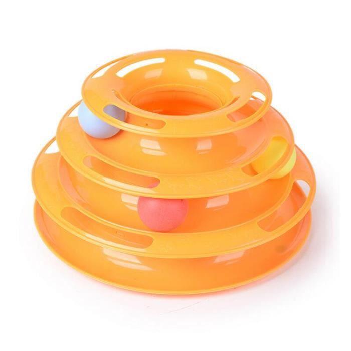 JOUET STOEX® Chat animal fou 3 jouet interactif Chase bo