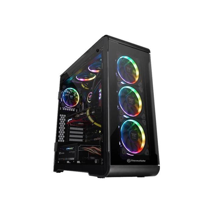 BOITIER PC  THERMALTAKE Boitier PC View 32 TG RGB - Moyen tour