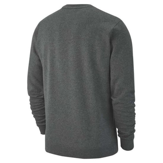 nike m crew fleece team club 19 sweat-shirt homme
