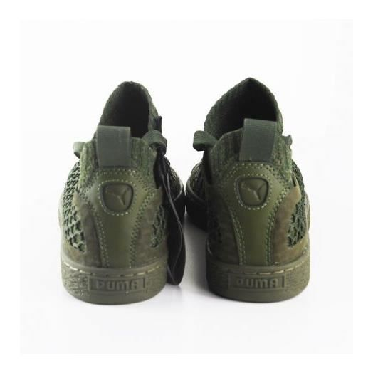 Chaussures Puma Basket Classic NetFit EvoKNIT Olive AMvWg3e2DH