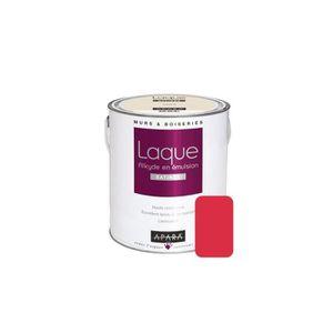PEINTURE - VERNIS Laque alkyde satinée pour murs et boiseries 2,5 li