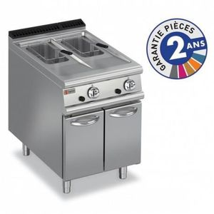 FRITEUSE ELECTRIQUE Friteuse à gaz - 2x 10 litres - Gamme 900 - Baron