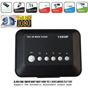 LECTEUR MULTIMÉDIA HD 1080P Disque dur USB Lecteur multimédia multi-m