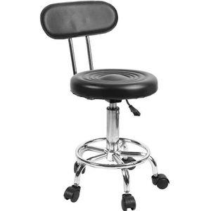 CHAISE Pivotante Chaise de coiffure avec Dossier réglable