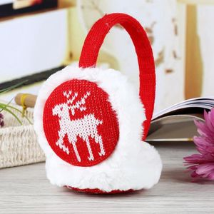 BONNET - CAGOULE Cache-oreilles tricotés pour enfants avec un motif