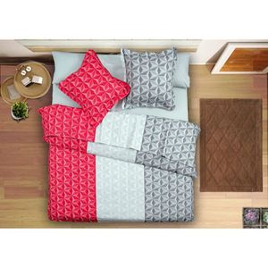 drap plat imprime 2 personnes achat vente drap plat. Black Bedroom Furniture Sets. Home Design Ideas