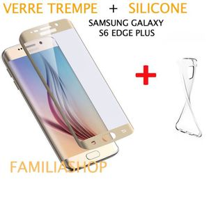 coque samsung galaxy s6 edge verre trempe