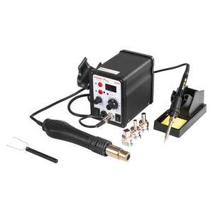 Stamos Station de Soudage Digitale S-LS-12 Basic fer /à souder 65W, LED, brasage 200-480 /°C