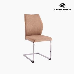 CHAISE Chaise Polyester Marron (42 x 59 x 105 cm) by Craf