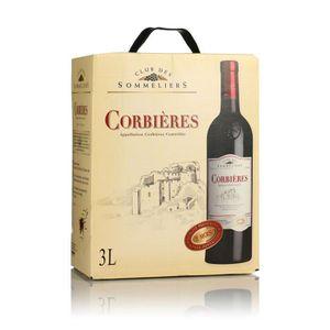 VIN ROUGE Bib Corbières 2015 Languedoc Roussillon - Vin roug