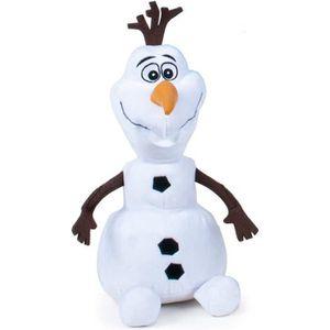 PELUCHE LA REINE DES NEIGES Peluche Olaf 30 cm