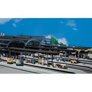 GARAGE - BATIMENT Modélisme ferroviaire HO - Quais de gare couverts