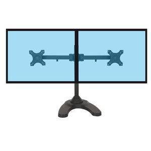 FIXATION ÉCRAN  Support de bureau pour 2 écrans PC 13''-27