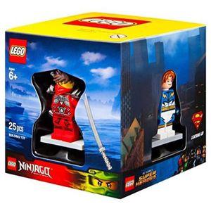 ASSEMBLAGE CONSTRUCTION Jeu D'Assemblage LEGO HW66W 4 Minifigures Boxed Gi