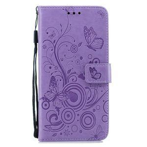 COQUE - BUMPER Coque HUAWEI Nova 3,Violet Fleur Papillon Motif Cu