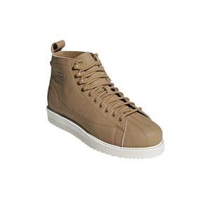 Chaussures de lifestyle femme adidas Superstar Marron clair