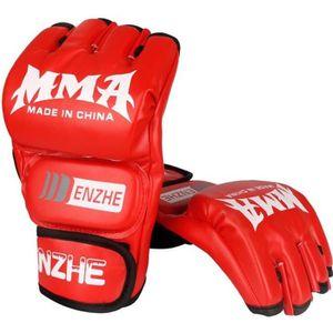 Loe Gants de Boxe de Formation Professionnelle Muay Thai Fight Taekwondo Homme Femme Adulte Gants pour Enfants Respirant Gants de Boxe r/ésistants /à la d/échirure