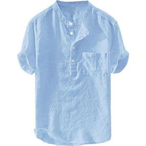 Homme Firetrap manches courtes chemise lin casual nouveau