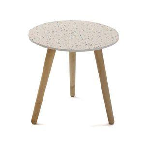 TABLE D'APPOINT Table d'appoint ronde de 3 pieds - Diam 40 x H 4 c