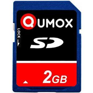 CARTE MÉMOIRE Carte mémoire SD QUMOX 2 Go pour caméra appareil p