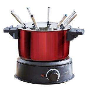 FONDUE ÉLECTRIQUE Senya appareil à fondue électrique en inox 8 fourc