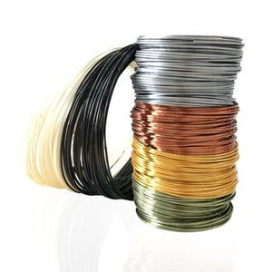 FIL POUR IMPRIMANTE 3D Filament PLA 1,75mm pour imprimante 3D à 6 couleur