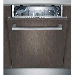 LAVE-VAISSELLE SIEMENS SN636X00AE - Lave vaisselle tout encastrab
